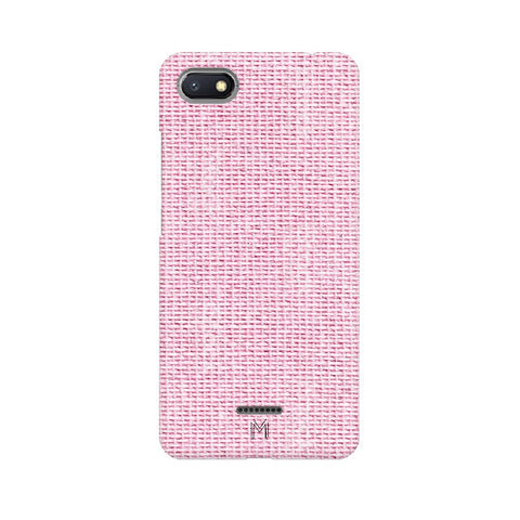 Xiaomi Redmi 6A Pink Fabric Design
