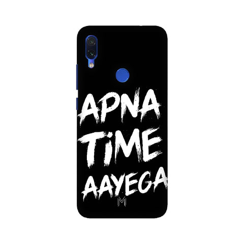 Xiaomi Redmi 7 Apna Time Design