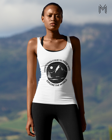 Explore the world Tank Top