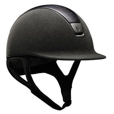 SamShield Helmet Premium Alcantara with Leather Top - Exceptional Equestrian