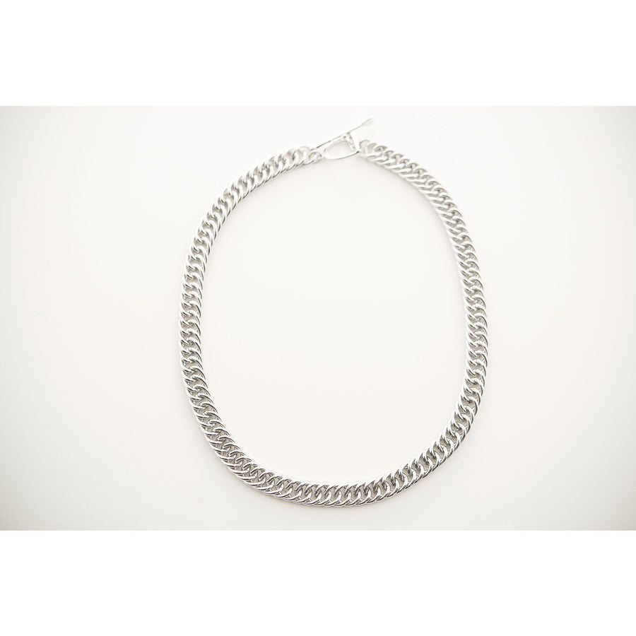 Michel McNabb  Curb Chain Necklace - Exceptional Equestrian