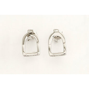 Michel McNabb Stirrup Post Earrings - Exceptional Equestrian
