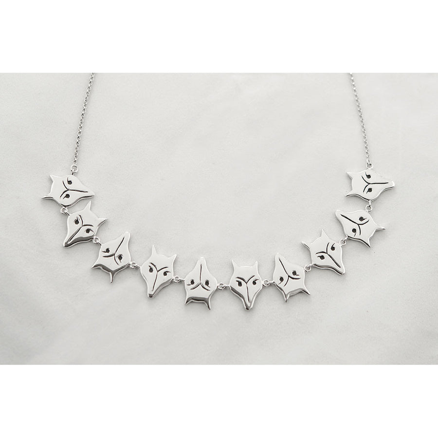 Michel McNabb Fox Necklace - Exceptional Equestrian