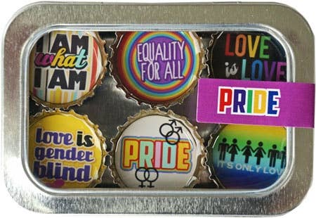 Kate Grenier Designs - Pride Magnet - Six Pack