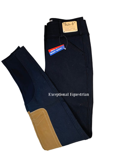1923 Tailored Sportsman Boot Sock Mid Rise Front Zip