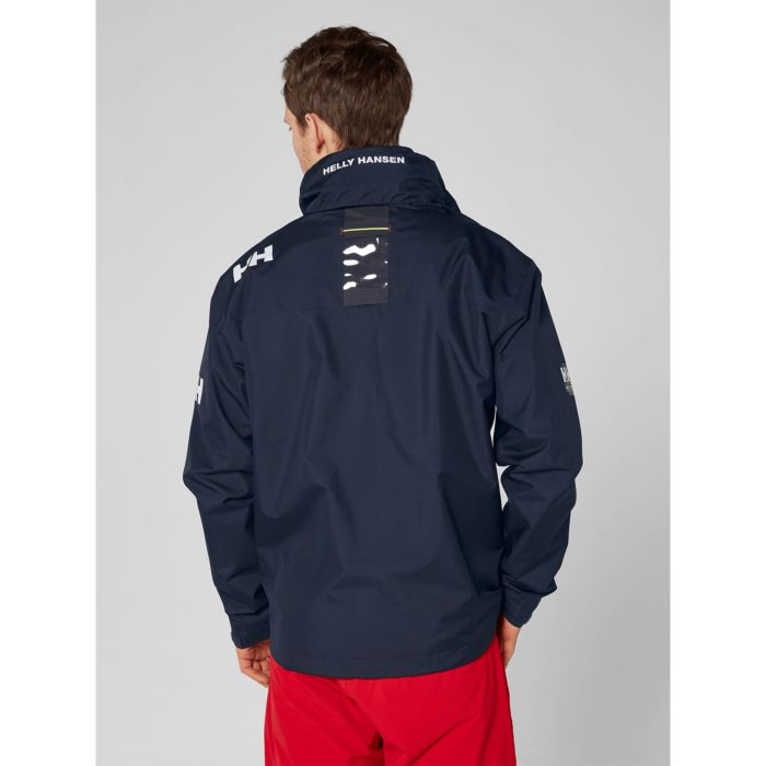Helly Hansen Men's CREW HOODED MIDLAYER JACKET Navy