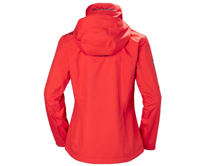 Crew Hooded Jacket Alert Red Women's