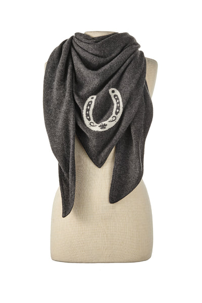 Horseshoe Triangle Wrap - Exceptional Equestrian