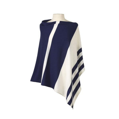Striped Poncho by Captiva
