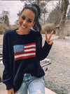 Wooden Ships Flag Crewneck
