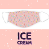 Face Mask - Ice Cream - Children Only