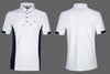 Gym Men's Show Shirt by Equiline white/navy