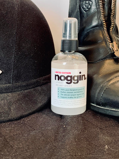 noggin. A Fresh Helmet Spray