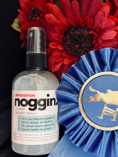 noggin. A Fresh Helmet Spray (4 oz.)