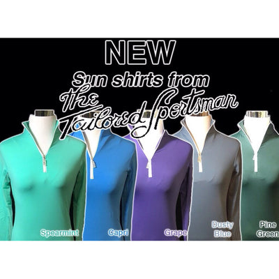 TS IceFil® Ziptop Sun Shirt - 6 colors - Exceptional Equestrian