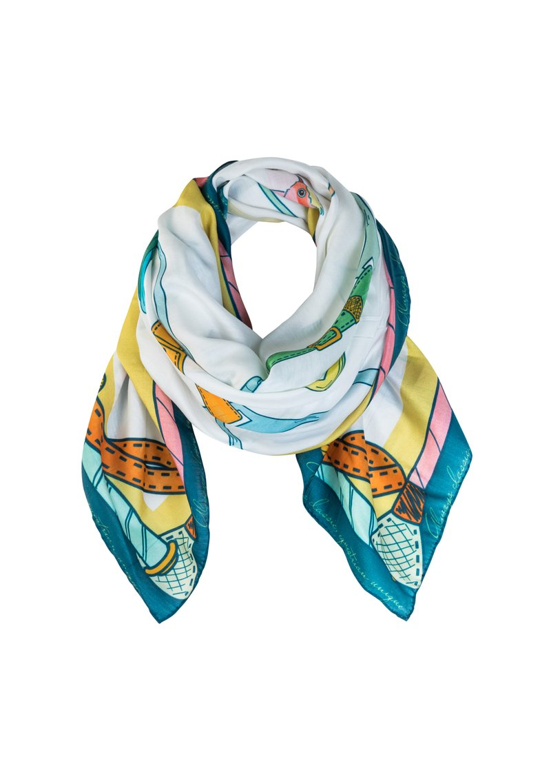 Ronner Birds of Paradise Scarf