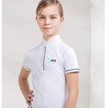 Equiline Children's show shirt Selena - Exceptional Equestrian