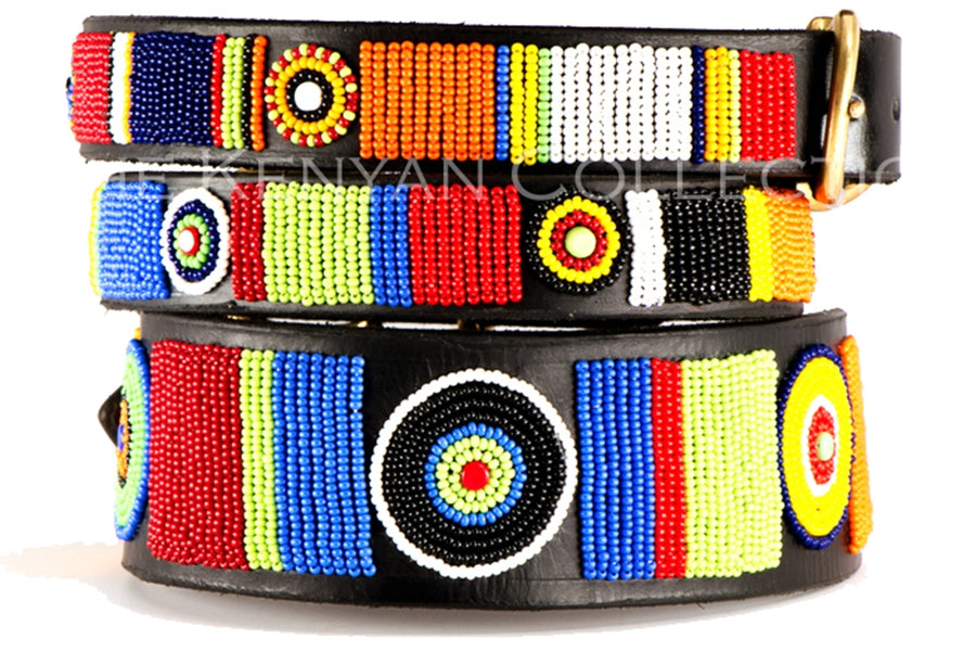 The Kenyan Collection Beaded Belts - Circle of Life