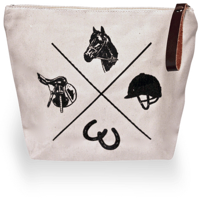 Spiced Makeup Bag - Exceptional Equestrian