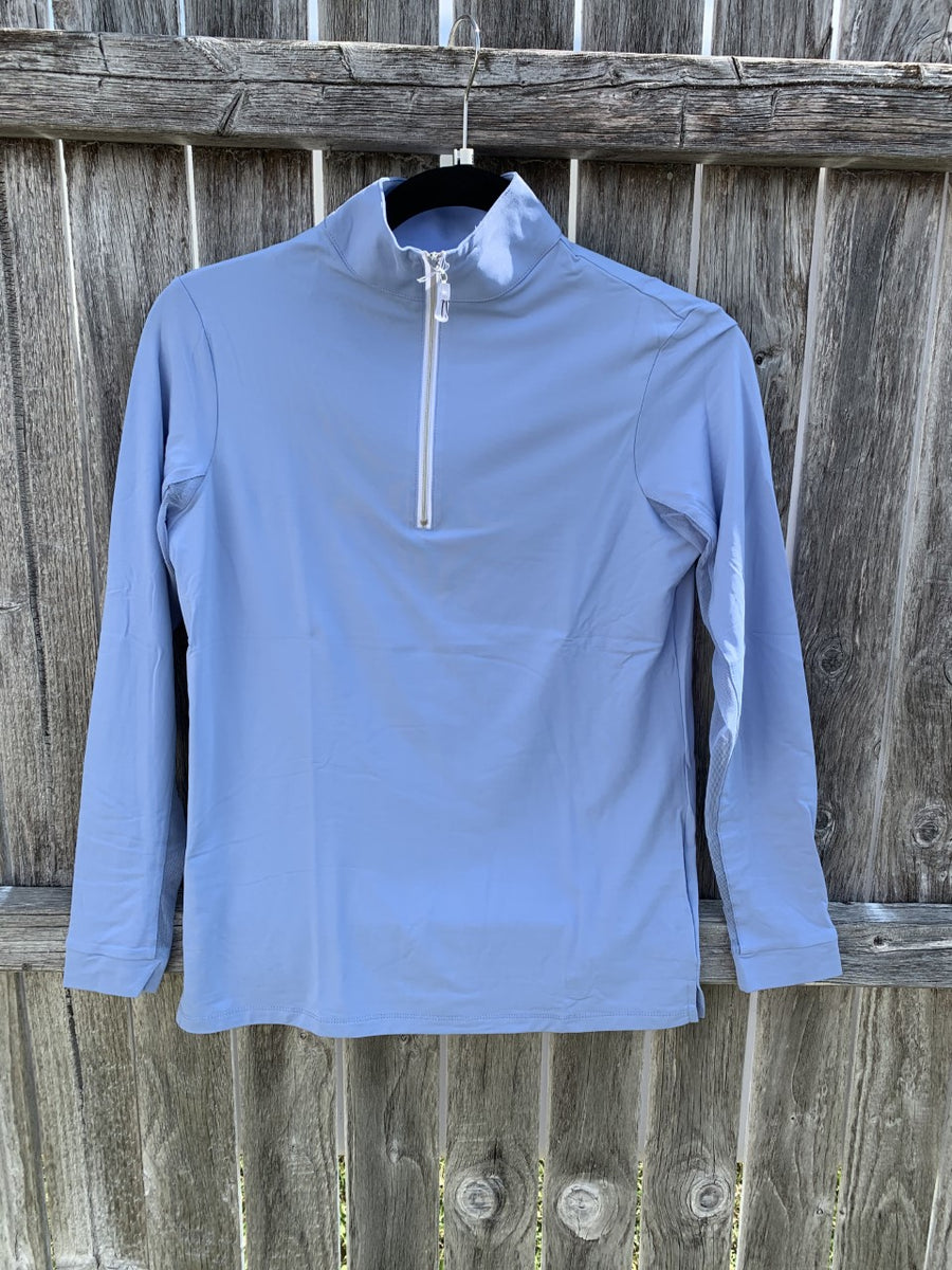Tailored Sportsman Icefil Long Sleeve Arctic Blue