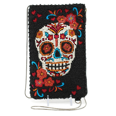 Mary Frances Crossbody Skull Flower - Exceptional Equestrian