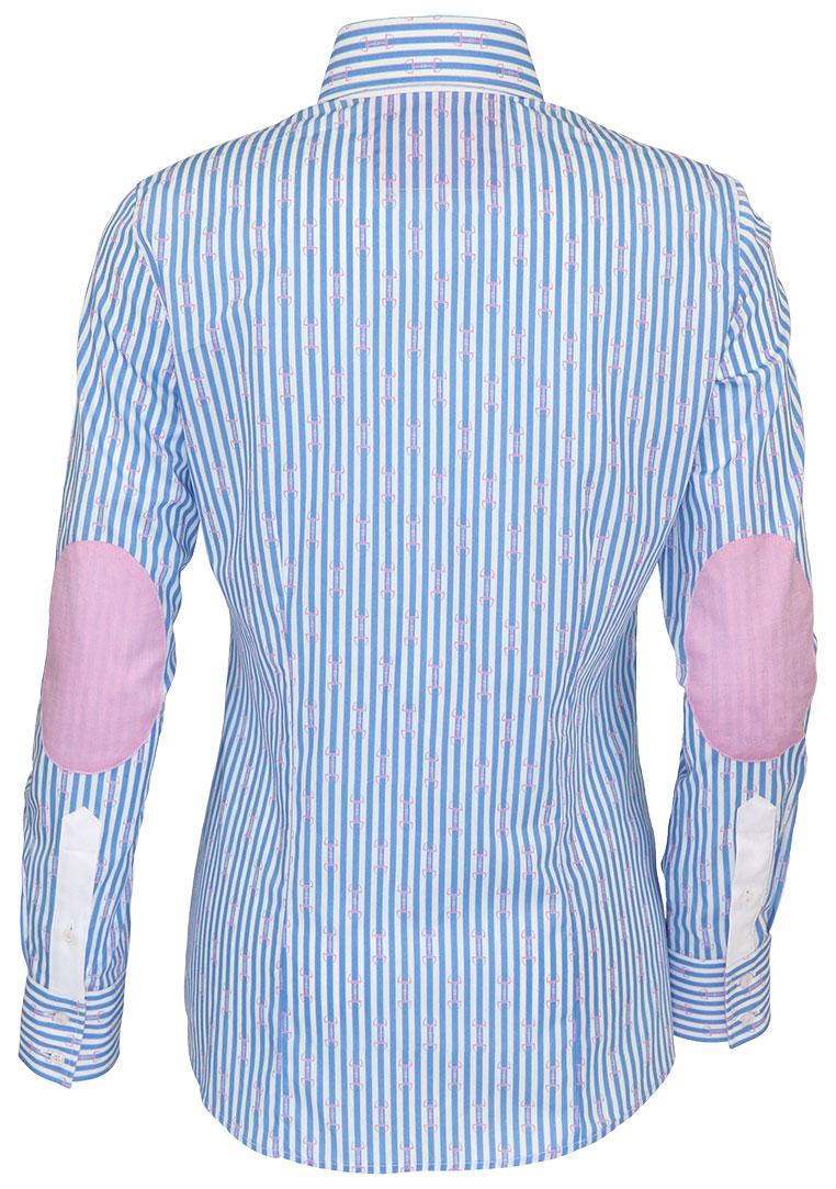 Emma Fior da Liso Light Blue Stripe