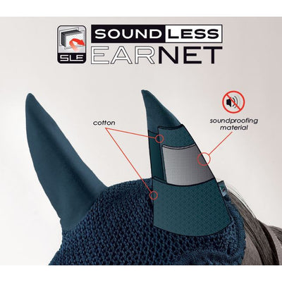 Equiline Soundless Ear Bonnets - Exceptional Equestrian