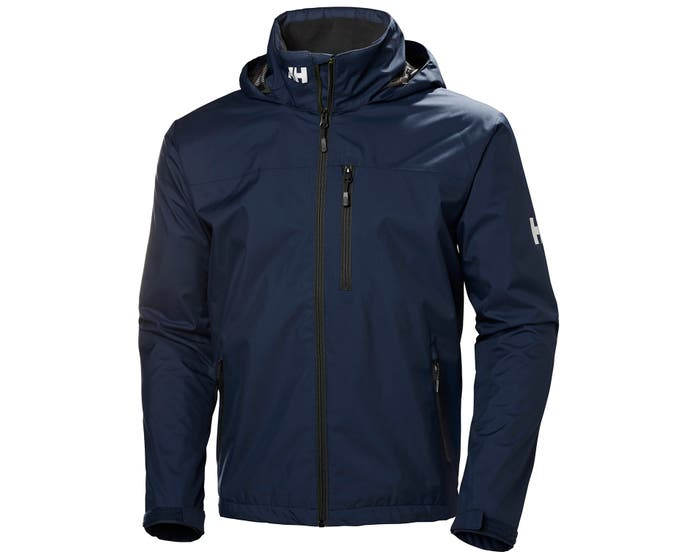 Helly Hansen Men's Crew Hooded Jacket - North Sea