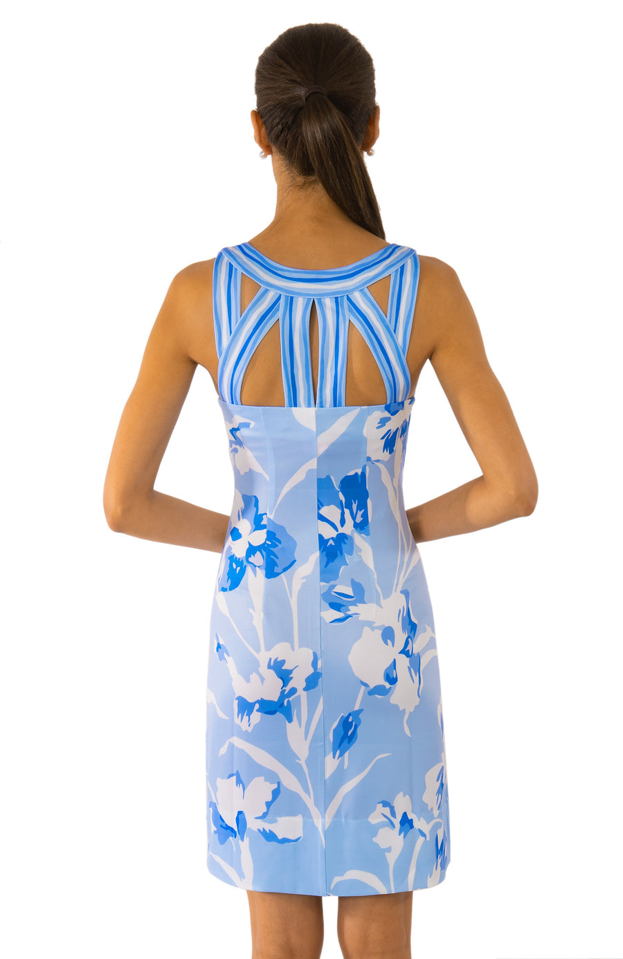 Isoceles Dress-Iconic Blues Gretchen Scott