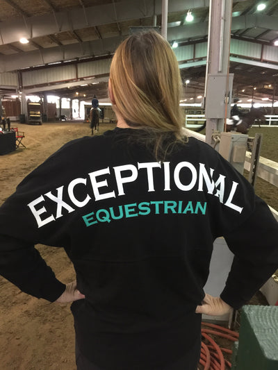 Exceptional Equestrian Logo Long Sleeve