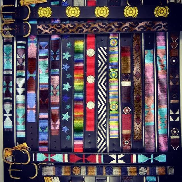 Kenyan Beaded Belts - Exceptional Equestrian