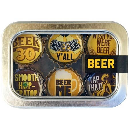 Kate Grenier Beer Magnets