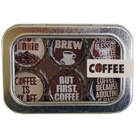 Kate Grenier Coffee Magnets