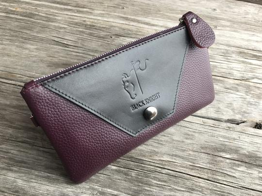 Black Knight Wristlet Grand Prix Plum