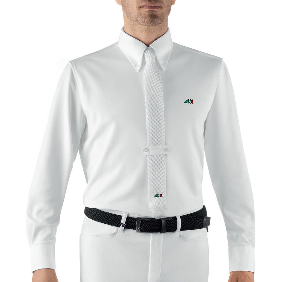 Equiline Ray Long Sleeve Men's Show Shirt - Exceptional Equestrian
