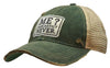 """Me? Sarcastic? Never"" Distressed Trucker Cap"
