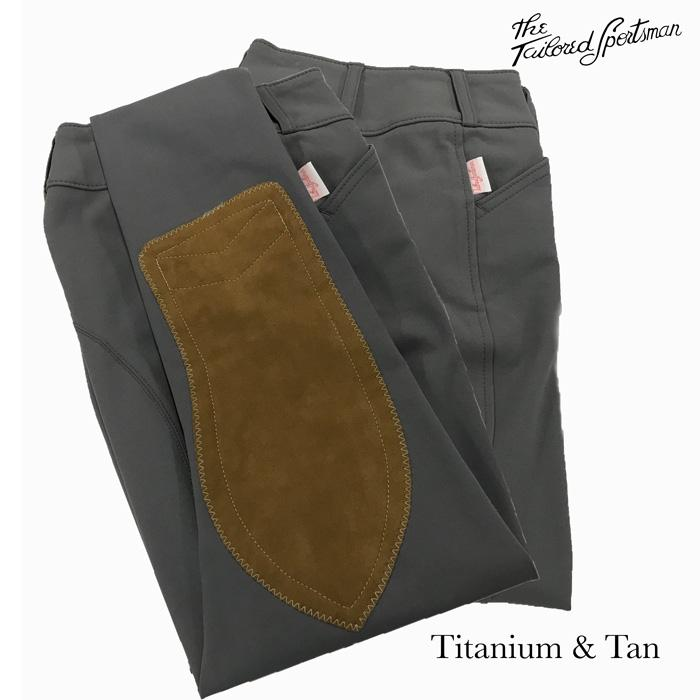 1967 Titanium w/ tan Knee Patches Breech