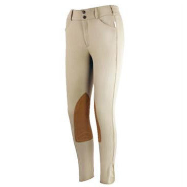 TS 1967 Tan Low Rise Front Zip Show Breech - Exceptional Equestrian