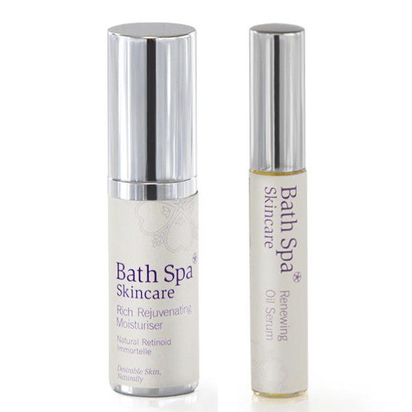 Gift Set - Rich Rejuvenating Moisturiser and Renewing Oil Serum
