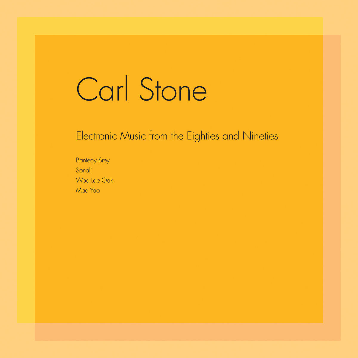 Carl Stone - Electronic Music From The Eighties and Nineties - Hot Salvation