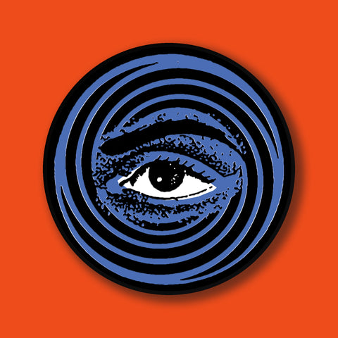 A/W 18 Blue Eye Enamel Badge - Hot Salvation