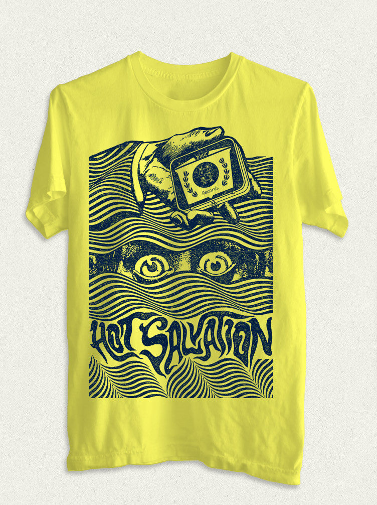 Hot Salvation Records 'EYES' shirt. - Hot Salvation