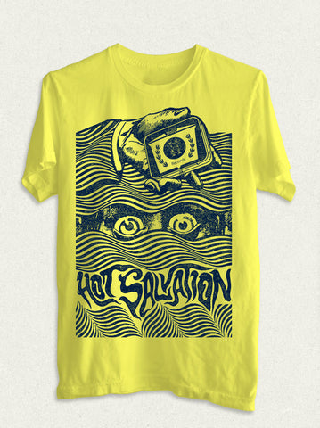 Hot Salvation Records 'EYES' shirt.