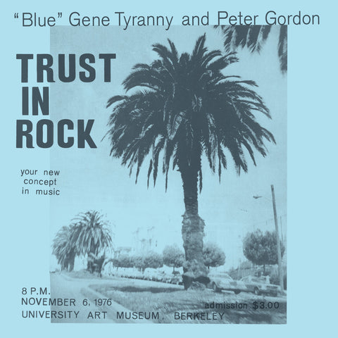 """Blue"" Gene Tyranny and Peter Gordon - Trust In Rock - Hot Salvation"