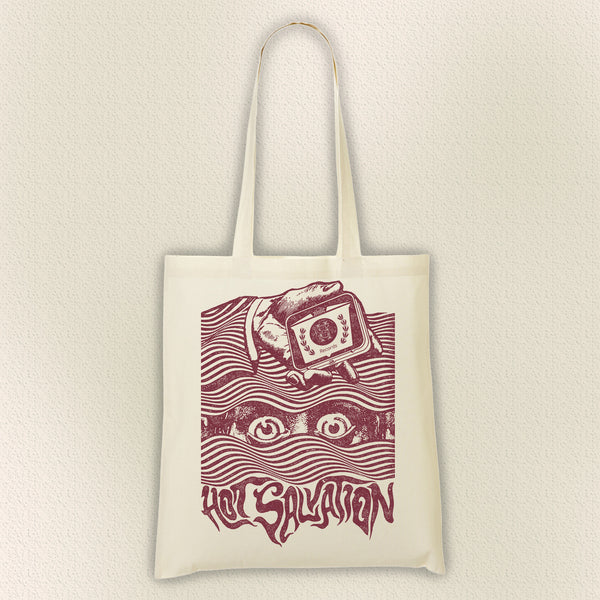 Hot Salvation Records 'EYES' Heavy Weight Shopper - Hot Salvation