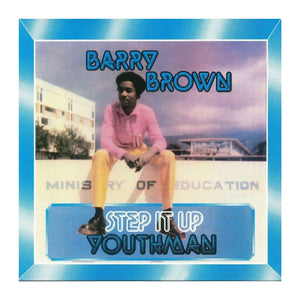 Barry Brown - Step It Up Youthman - Hot Salvation