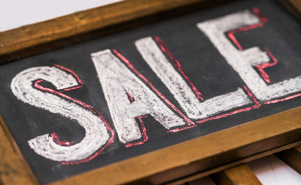 In-Store Merchant Specials sale sign