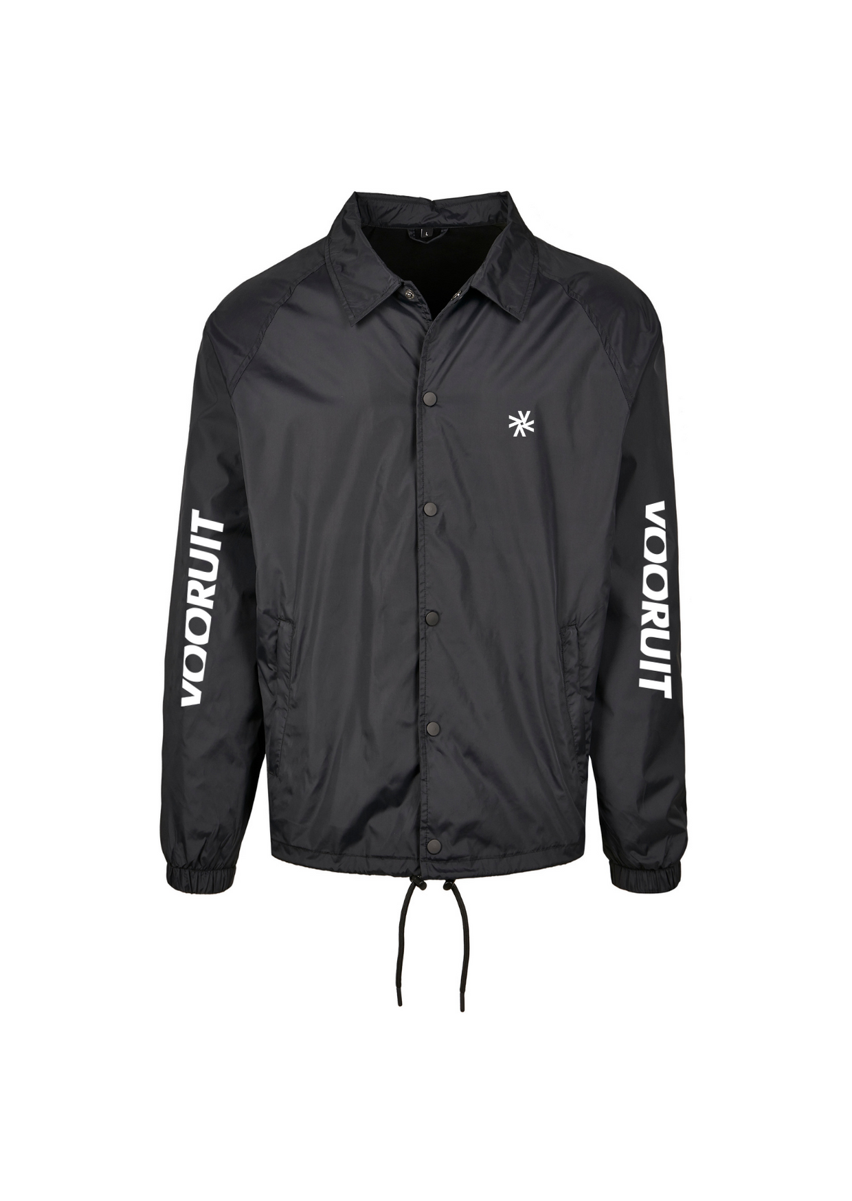 Coach Jacket - Sleeves Wit