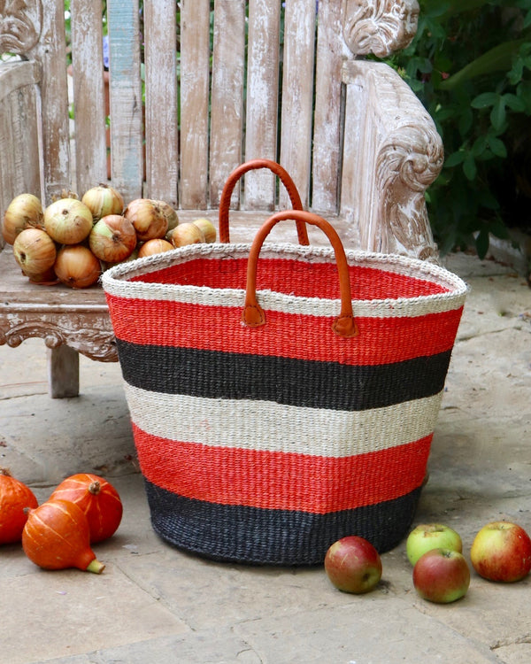 Kenyan Storage Basket 255 - Medium