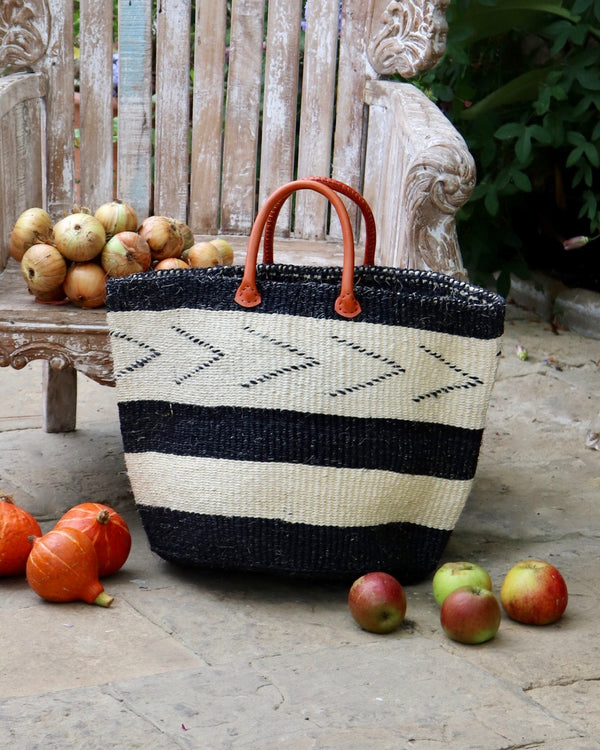 Kenyan Storage Basket 257 - Medium